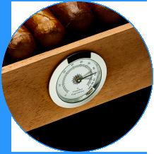 Higrômetro analógico